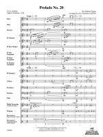 Prelude No. 20 - Conductor Score Sheet Music