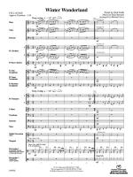 Winter Wonderland - Conductor Score & Parts Sheet Music