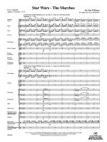Star Wars: The Marches (Featuring: Star Wars (Main Theme) / Parade of the Ewoks / The Imperial March Sheet Music