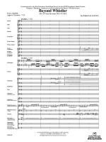 Beyond Whistler (Mvt. IV from the Sea to Sky Suite) - Conductor Score Sheet Music