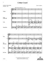 Critter Crawl - Conductor Score Sheet Music
