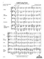 Auld Lang Syne - Conductor Score Sheet Music