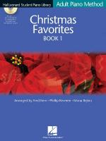 Christmas Favorites Book 1 - Book/CD Pack Hal Leonard Student Piano Library Adult Piano Method Sheet Music