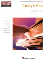 Today's Hits Hal Leonard Student Piano Library Popular Songs Series Sheet Music