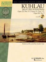 Kuhlau - Selected Sonatinas Opus 20, Nos. 1-3, Opus 55, Nos. 1-3, Opus 88, Number 3 Sheet Music