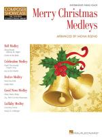 Merry Christmas Medleys Intermediate Level Composer Showcase Sheet Music