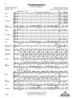Guantanamera - Conductor Score Sheet Music