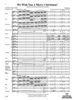 We Wish You a Merry Christmas - Conductor Score Sheet Music