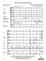 The Little Drummer Boy - Conductor Score Sheet Music