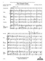 The Gentle Giant (A Lyric Solo for Double Bass and Orchestra) - Conductor Score & Parts Sheet Music