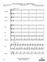 Five Ukrainians in a Bell Tower (Ukrainian Bell Carol) - Conductor Score Sheet Music