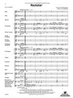 Rockstar (From Nickelback's All the Right Reasons Album) - Conductor Score & Parts Sheet Music