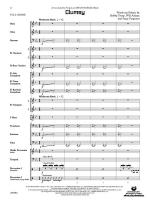 Clumsy (As recorded by Fergie on the album The Dutchess) - Conductor Score & Parts Sheet Music