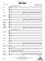 Billie Jean (As performed by Michael Jackson) - Conductor Score & Parts Sheet Music