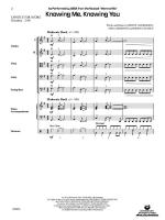 Knowing Me, Knowing You (As performed by ABBA from the musical Mamma Mia) - Conductor Score Sheet Music