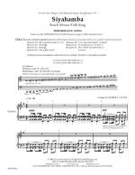 Siyahamba - Full Score And Parts Sheet Music