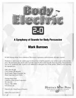 Body Electric 2.0 A Symphony of Sounds for Body Percussion Sheet Music