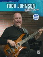 Todd Johnson Electric Bass Technique Builders - Book & DVD Sheet Music