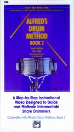 Alfred's Drum Method, Book 2 (A Step-by-Step Instructional Video Designed to Guide and Motivate Inte Sheet Music