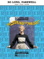 So Long, Farewell (From 'the Sound Of Music') Sheet Music Sheet Music