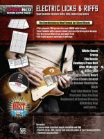 Electric Licks & Riffs (Your Favorite Electric Licks, Riffs, Intros, And Solos) - Poster / Folder /  Sheet Music