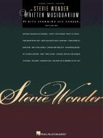 Stevie Wonder - Written Musiquarium Sheet Music