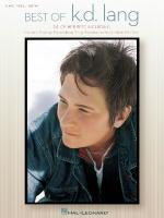 Best Of K.D. Lang Sheet Music