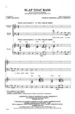 Slap That Bass Sheet Music - Choral Octavo Sheet Music