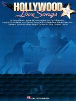 Hollywood Love Songs Sheet Music