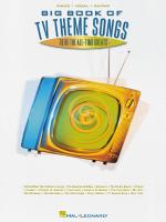 Big Book Of Tv Theme Songs Sheet Music