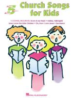 Church Songs For Kids Five-Finger Piano Sheet Music