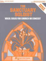 The Sanctuary Soloist - Volume III Low Voice Sheet Music