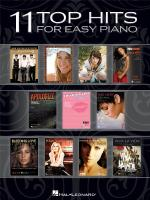 11 Top Hits For Easy Piano - 2008 Edition Sheet Music