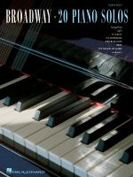 Broadway - 20 Piano Solos Sheet Music