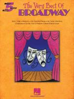 The Very Best Of Broadway Sheet Music