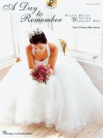 The O'neill Brothers - A Day To Remember Piano Music For Your Wedding Day Sheet Music