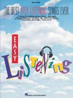 The Best Easy Listening Songs Ever Easy Piano Sheet Music
