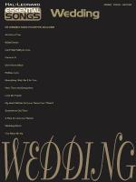 Essential Songs - Wedding Sheet Music