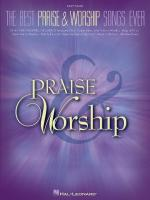 The Best Praise & Worship Songs Ever Sheet Music