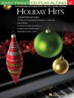 Holiday Hits Easy Piano CD Play-Along Volume 17 Sheet Music