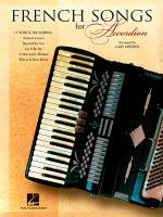 French Songs For Accordion Sheet Music