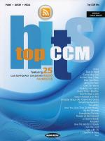 Top Ccm Hits Sheet Music