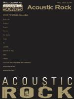 Acoustic Rock Essential Songs Series Sheet Music