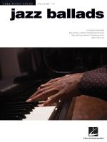 Jazz Ballads Jazz Piano Solos Series, Volume 10 Sheet Music