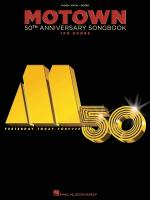 Motown 50th Anniversary Songbook Sheet Music