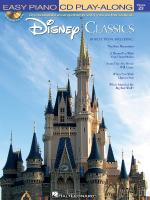 Disney Classics Easy Piano CD Play-Along Volume 23 Sheet Music