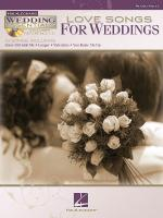 Love Songs For Weddings Wedding Essentials Series Sheet Music