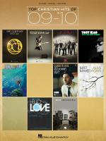 Top Christian Hits Of '09-'10 Sheet Music