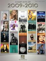 Chart Hits Of 2009-2010 Sheet Music