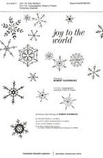Joy To The World - SATB, Congregation And Brass Choir Or Organ CHORAL PART(S) Sheet Music